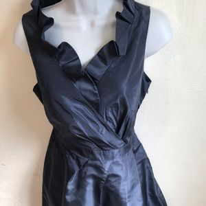 J.Crew 100% Silk Size 6 Blue Dress.              L